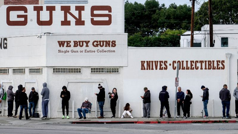 US gun sales surge amid fears of violence over presidential election