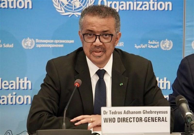 World Health Organization chief says coronavirus is 'not tired'