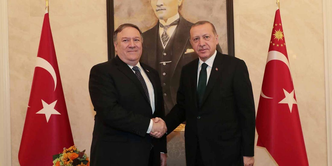 Turkey tells Pompeo to focus on racism and Islamophobia in US