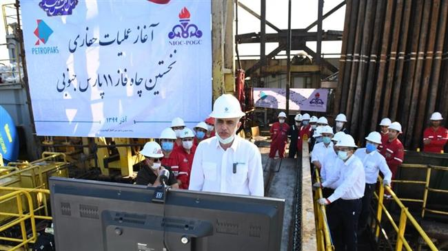 Iran starts drilling work at gas field abandoned by energy giants