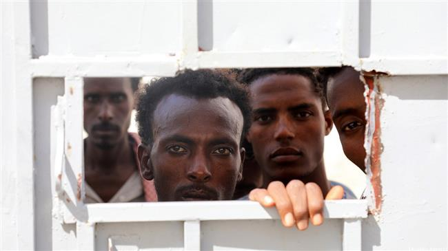 Saudi Arabia holds hundreds of African migrants in appalling conditions