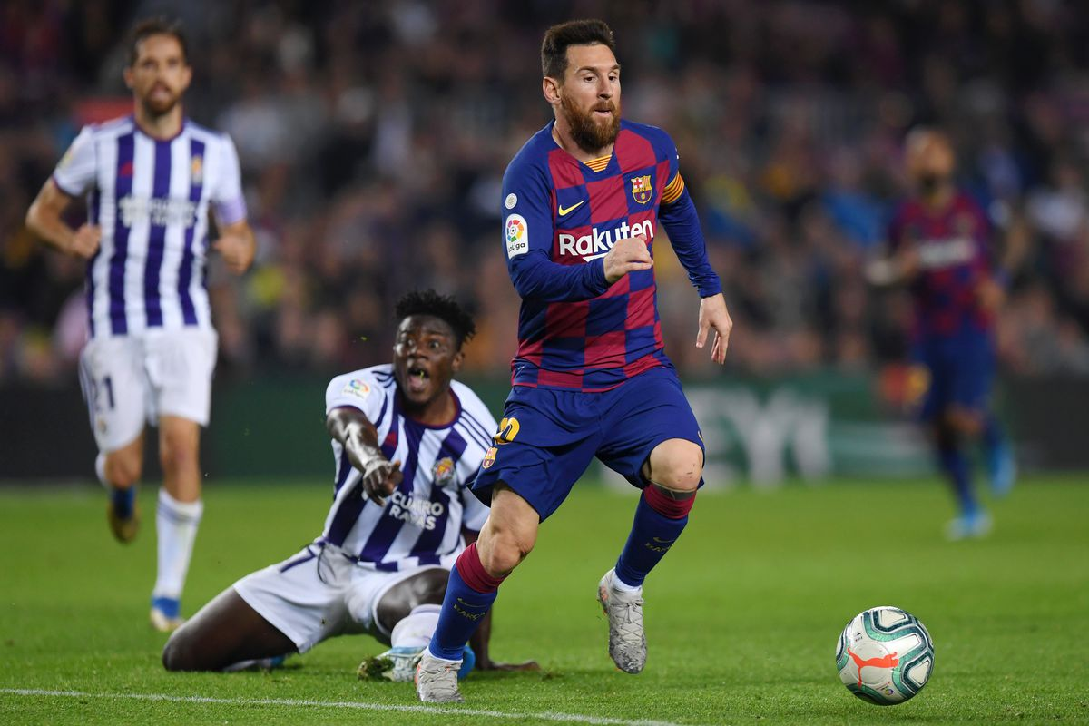Messi overtakes Pele's goal record as Barcelona beats Valladolid