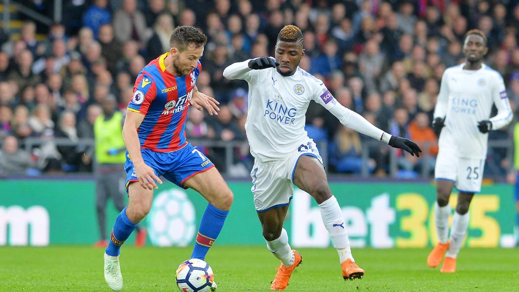 Leicester City climb to 2nd in Premier League after 1-1- draw at Crystal Palace