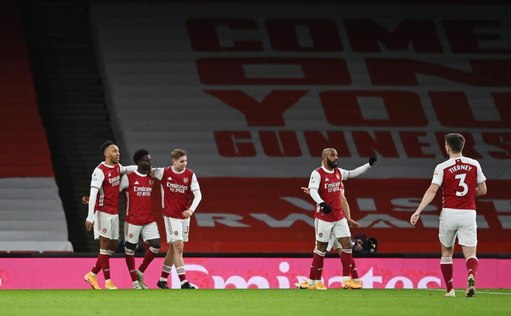Aubameyang's double goals give Arsenal win over Newcastle