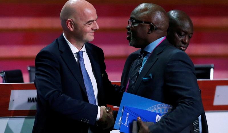 Shugaban Hukumar Kwallon Kafa Ta Nijeriya Zai Iya Tsayawa Takara A Majalisar Ƙoli Ta FIFA