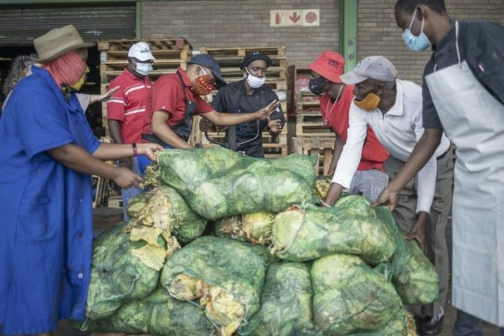 South African charity rescues food waste to feed poor