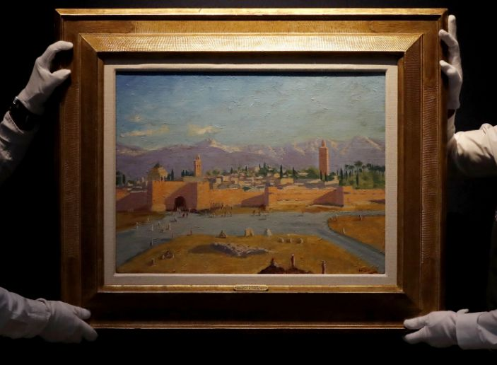 Churchill's 1943 painting of Moroccan mosque sold for $11.5 million