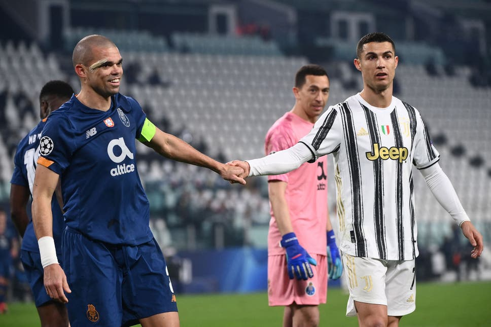 Juventus knocked out of UEFA Champions League by 10-man Porto