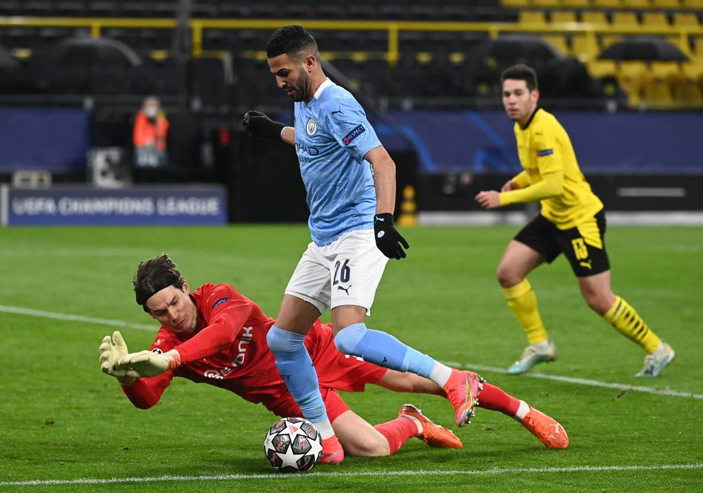 Manchester City reach UEFA Champions League semis with 2-1 win at Dortmund
