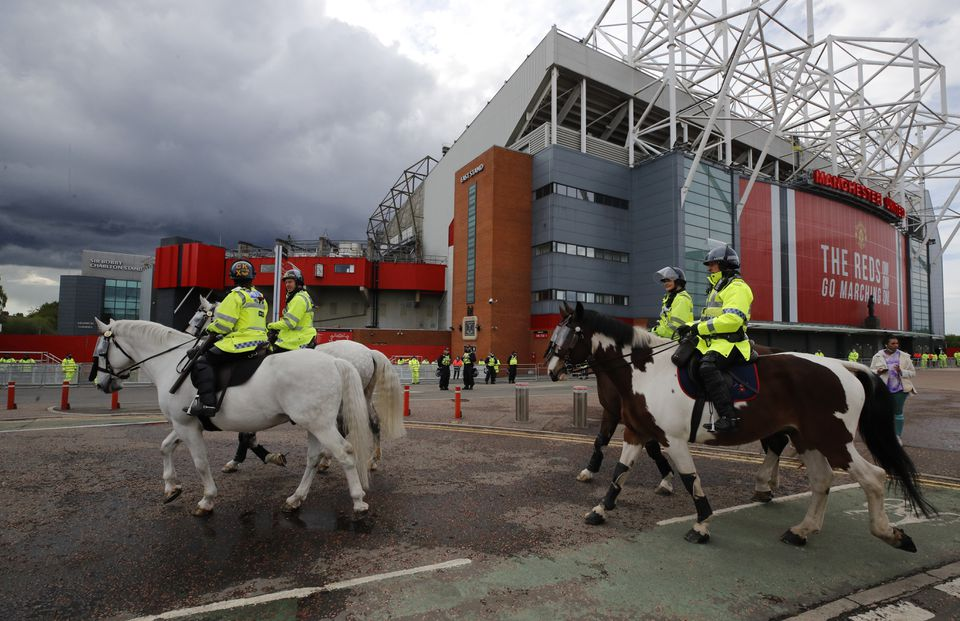 Manchester United beefs up security ahead of match against Leicester City