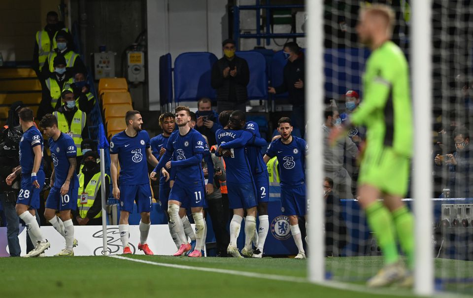Chelsea boost chance of Champions League qualification with 2-1 victory over Leicester City