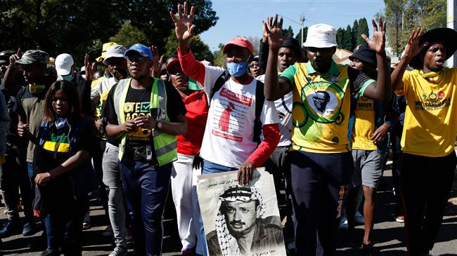 South African workers refuse to unload Israeli ship over Gaza aggression