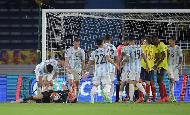 Aston Villa goalkeeper Emi Martinez knocked out in Colombia vs Argentina