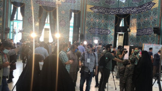 Intl. reporters covering presidential election in Iran