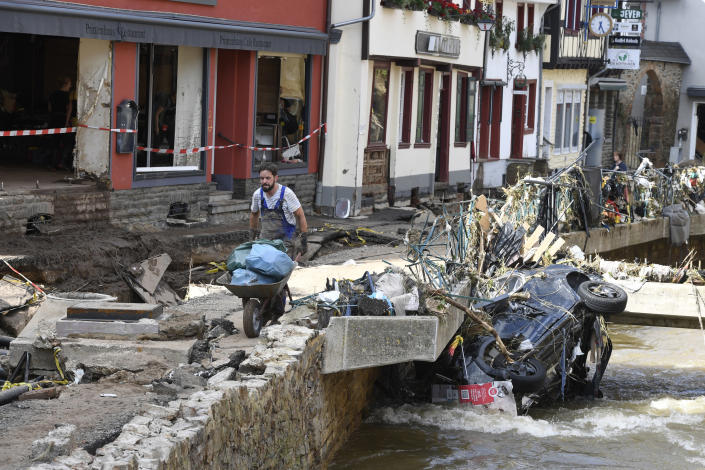 Europe's death toll from devastating floods rises to 188