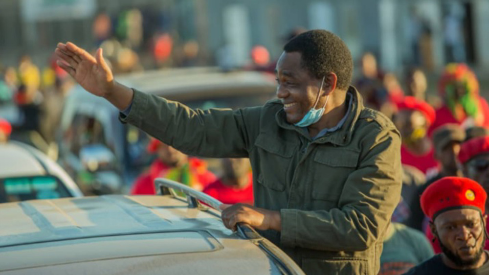 Zambia's opposition leader Hichilema wins presidential election