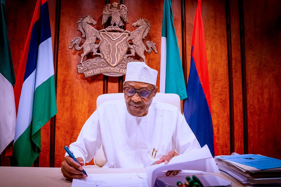 Nigeria's President Buhari signs into law bill to overhaul oil industry