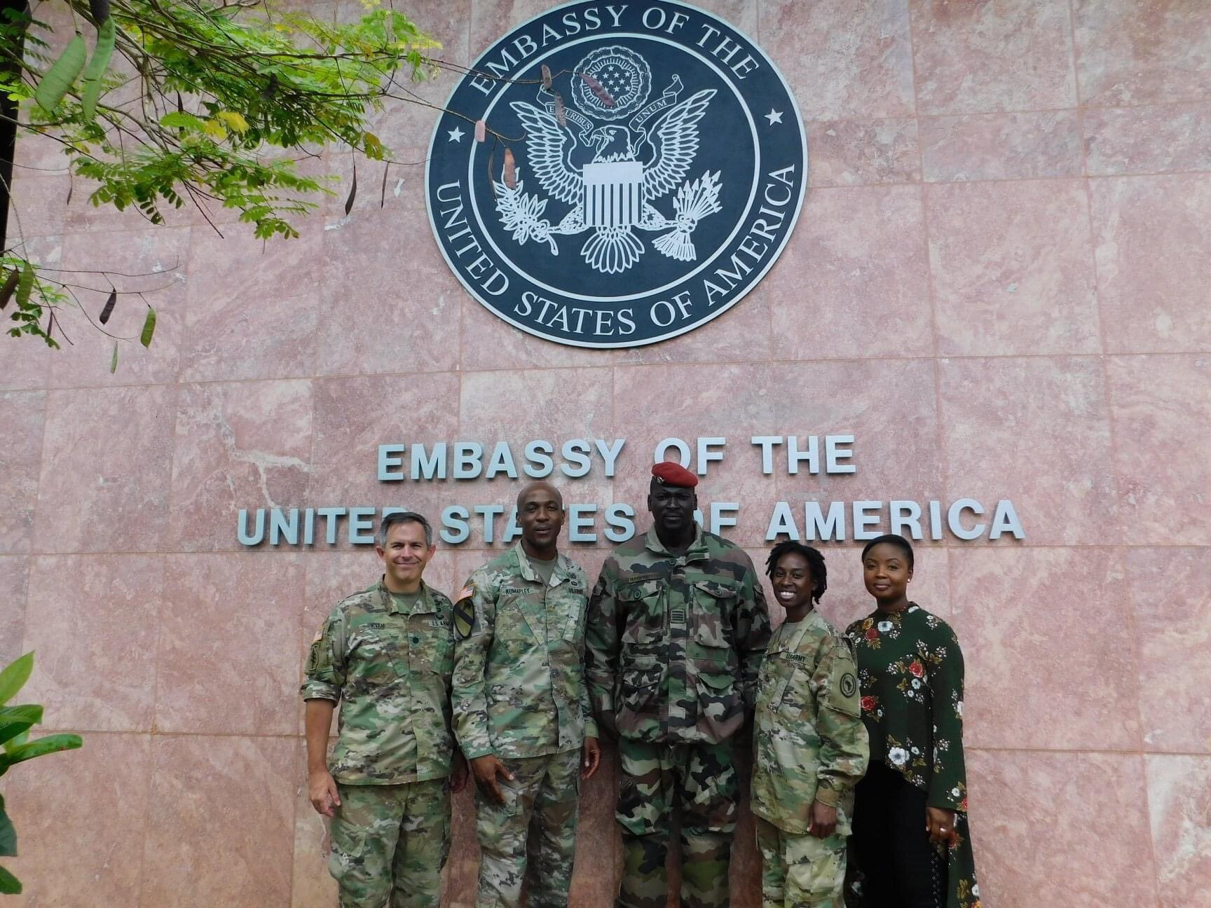 US military trained Guinean troops who staged coup in West African nation