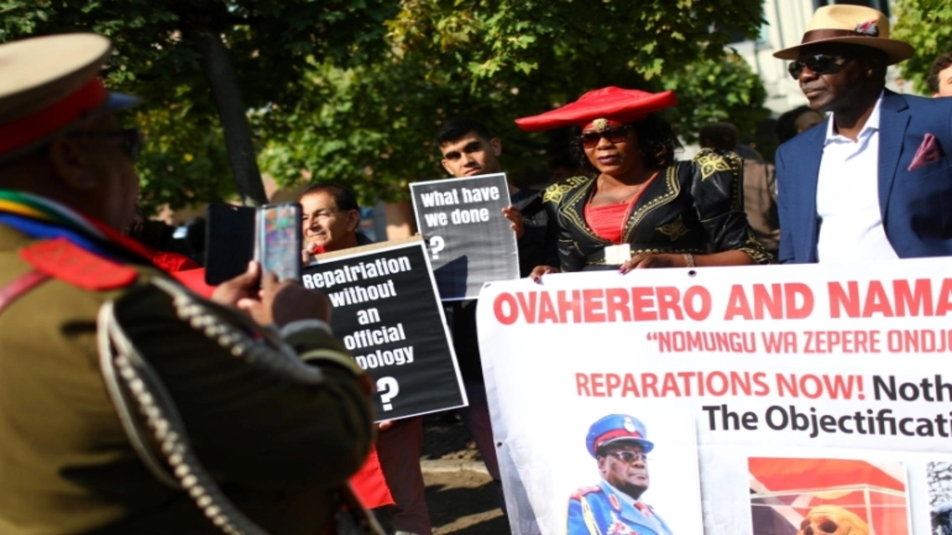 Namibians reject compensation from Germany over genocide