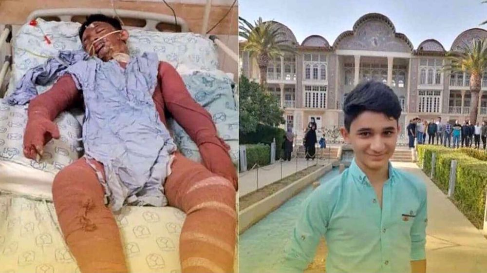 Iranian teenager dies after rescuing two women from fire